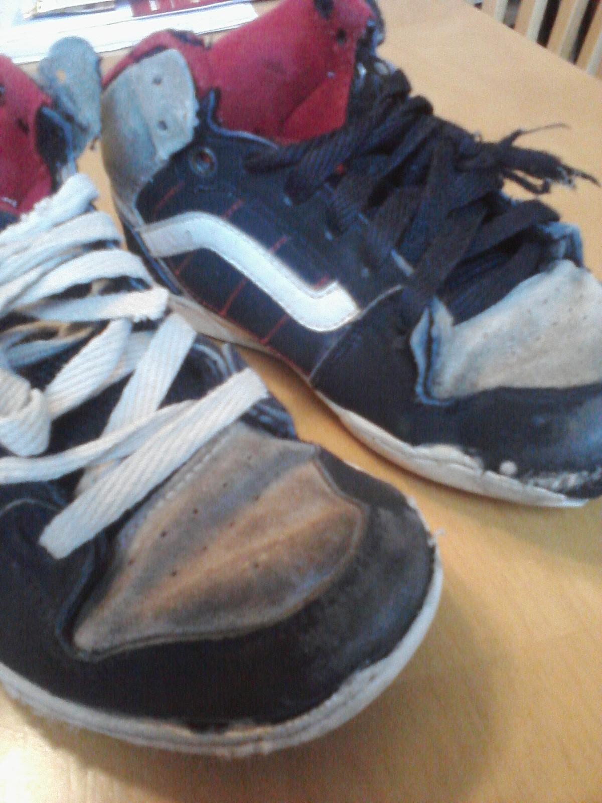 shoe holes